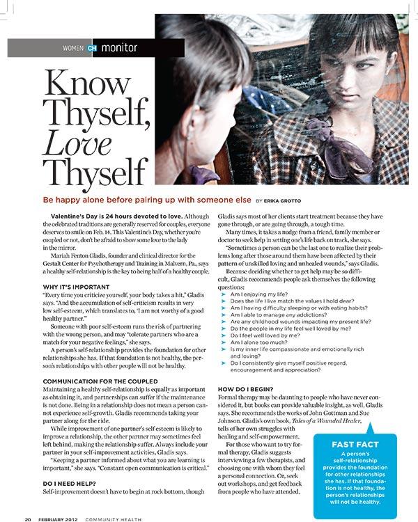 Know Thyself, Love Thyself