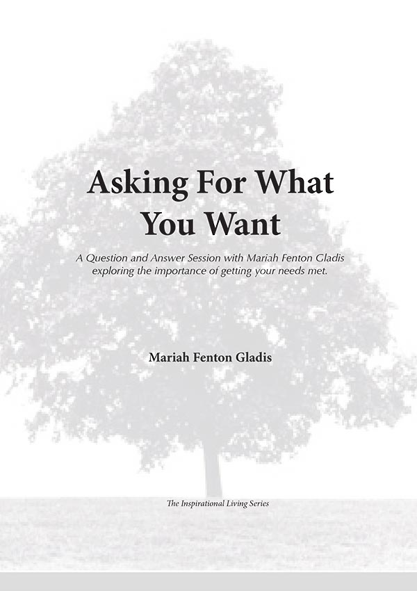 Asking for What You Want